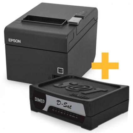 Kit Sat Dimep + Impressora Epson TM-T20 ( USB )