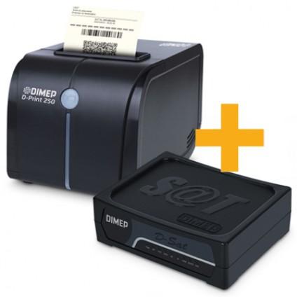 Kit Sat Dimep + Impressora D-PRINT 250
