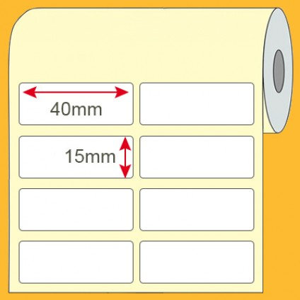 Etiqueta Comum de Produto 40x15mm