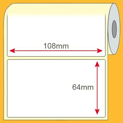 Etiqueta adesiva 108x64mm