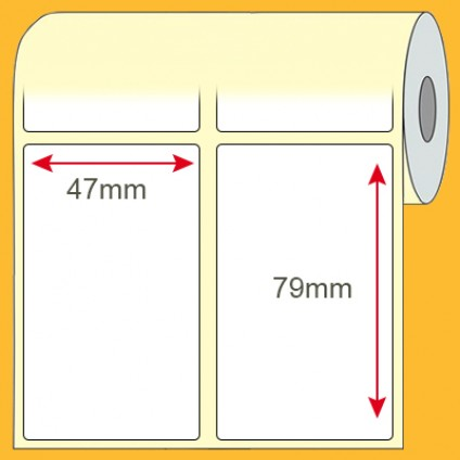Etiqueta Comum de Produto 47x79mm