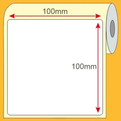 Etiqueta Plástica BOPP 100x100mm