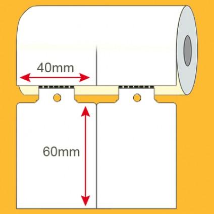 Etiqueta adesiva TAG 40x60mm
