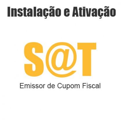 instalação e ativação do SAT Fiscal