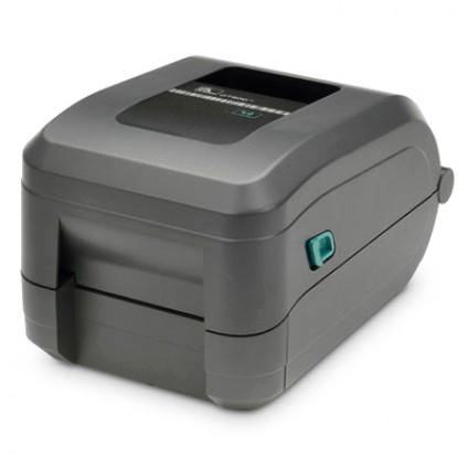Impressora Térmica Etiqueta Zebra Gt800 Transferência Térmica Monocromática Usb + Serial Bivolt